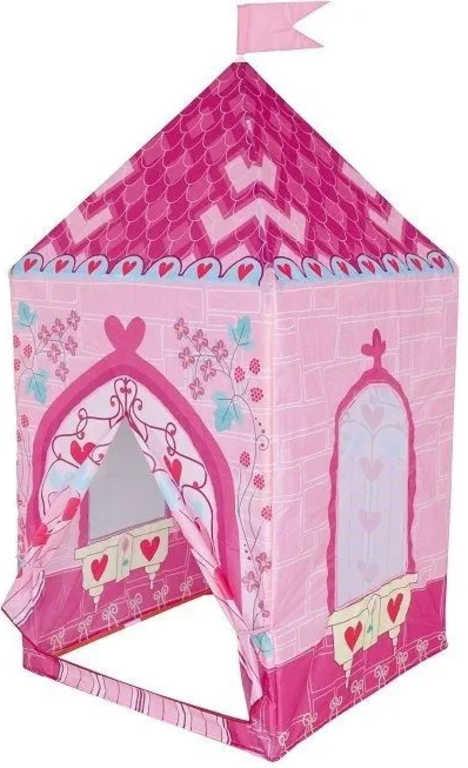 Stan dětský holčičí hrad pro princezny 75x75x160cm v krabici
