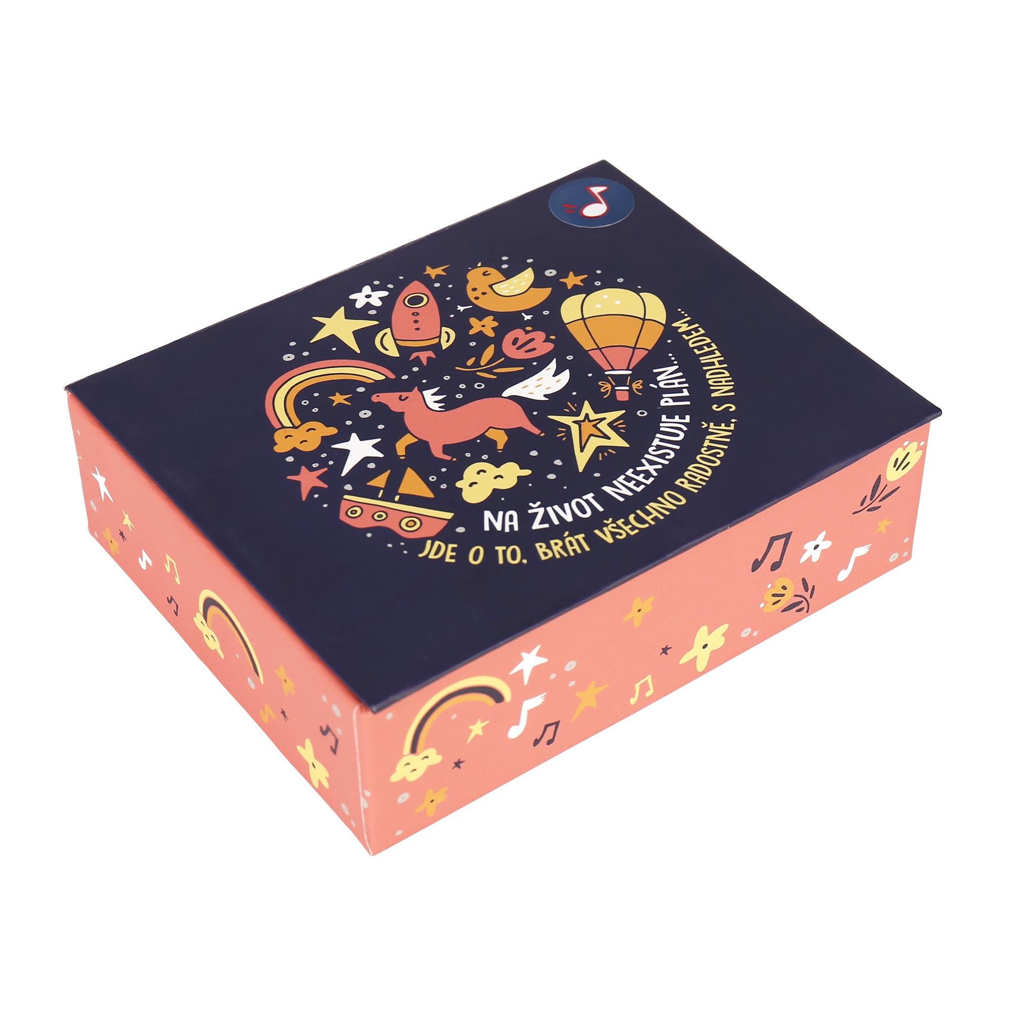 Hrací krabička - Optimista