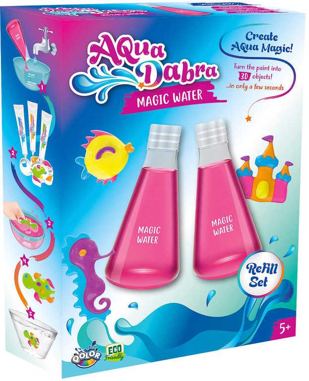 AquaDabra magická voda 2ks náhradní set v krabici