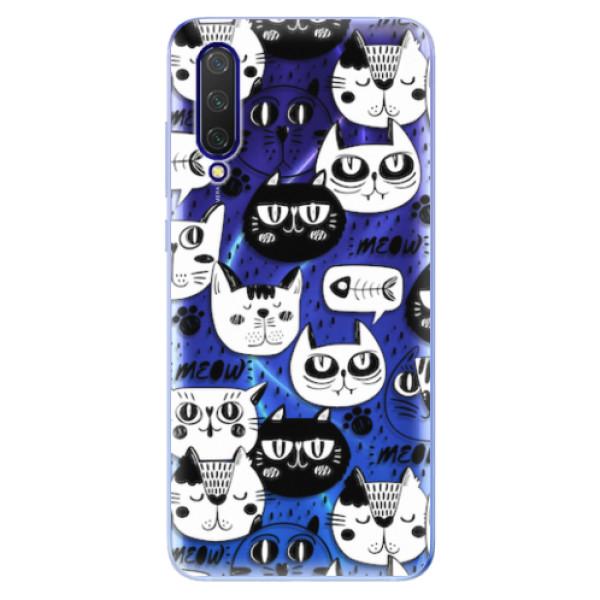 Odolné silikonové pouzdro iSaprio - Cat pattern 03 - Xiaomi Mi 9 Lite