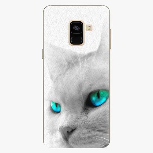Plastový kryt iSaprio - Cats Eyes - Samsung Galaxy A8 2018