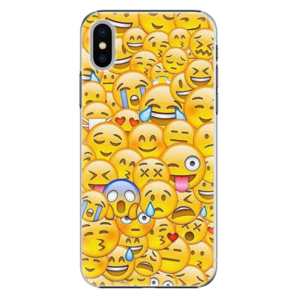 Plastové pouzdro iSaprio - Emoji - iPhone X