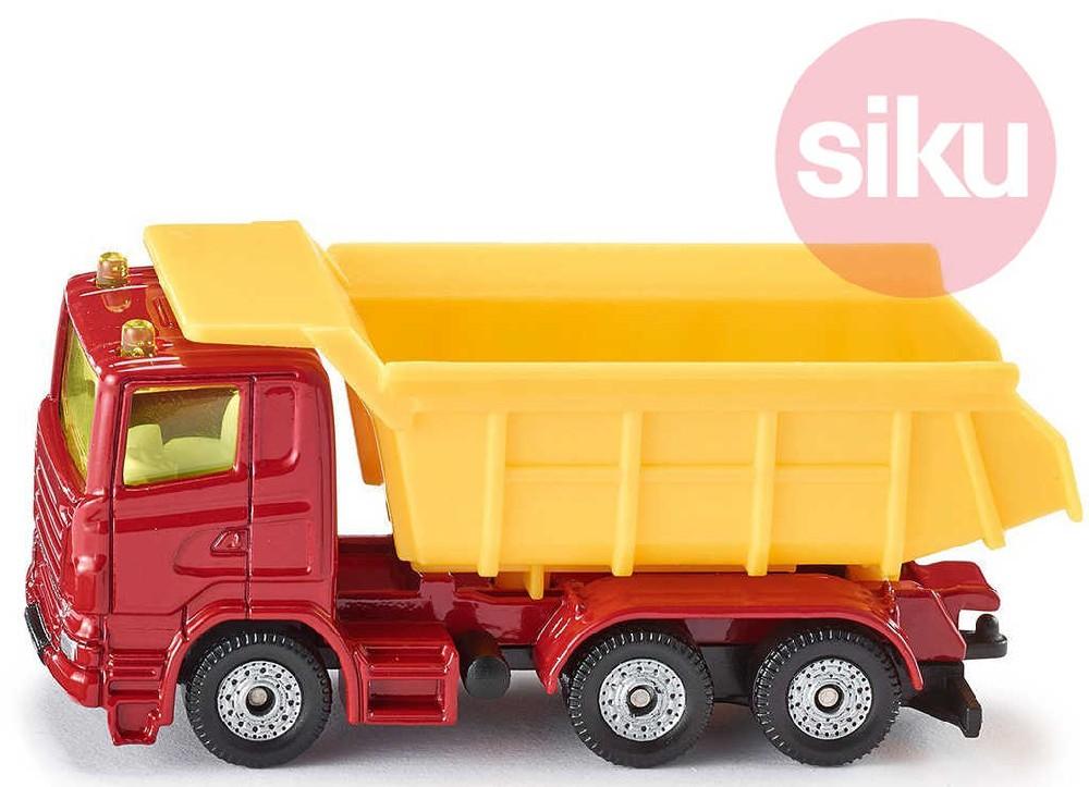 SIKU Model auto nákladní se sklápěcí korbou kov