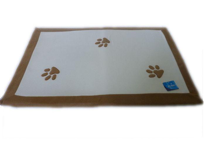 Psí matrace s tlapkami - 90x60 cm