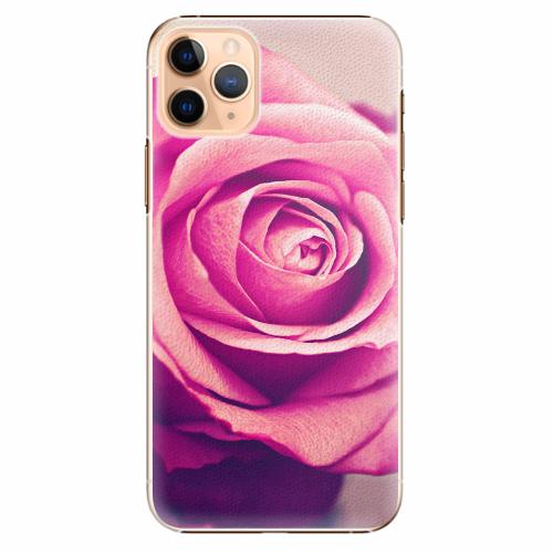Plastový kryt iSaprio - Pink Rose - iPhone 11 Pro Max