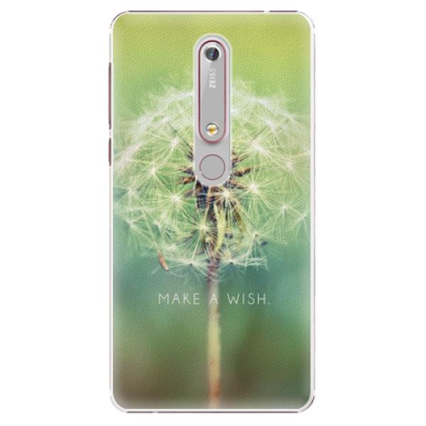 Plastové pouzdro iSaprio - Wish - Nokia 6.1