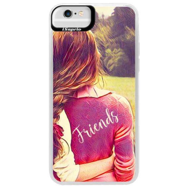Neonové pouzdro Blue iSaprio - BF Friends - iPhone 6 Plus/6S Plus