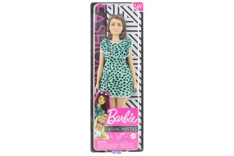 Barbie Modelka - šaty s puntíky GHW63