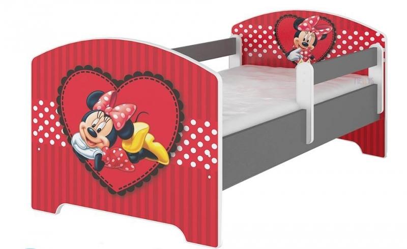Dětská postel Disney - Minnie Srdíčko