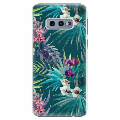 Plastový kryt iSaprio - Tropical Blue 01 - Samsung Galaxy S10e