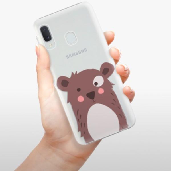 Plastové pouzdro iSaprio - Brown Bear - Samsung Galaxy A20e