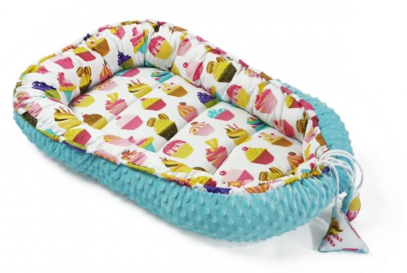 baby-nellys-oboustranne-hnizdecko-kokon-minky-60x90cm-sladkosti