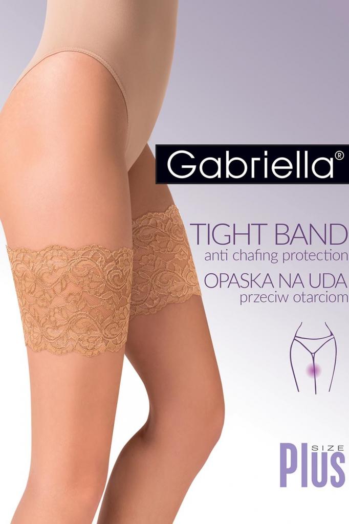 Ochranný pásek na stehna 509 Krajka Thigh band bandaletky - Gabriella