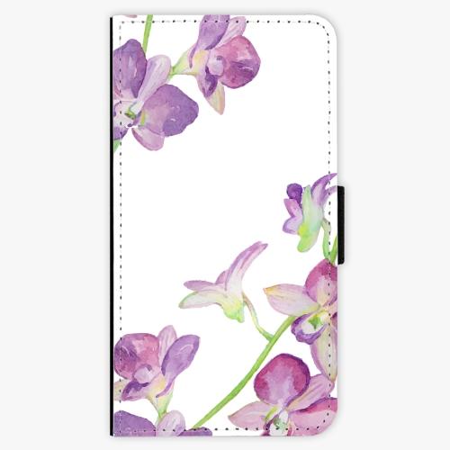 Flipové pouzdro iSaprio - Purple Orchid - Nokia 3