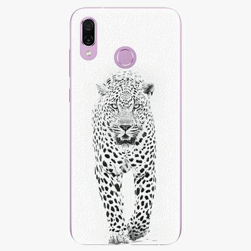 Silikonové pouzdro iSaprio - White Jaguar - Huawei Honor Play