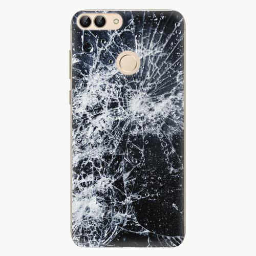 Silikonové pouzdro iSaprio - Cracked - Huawei P Smart