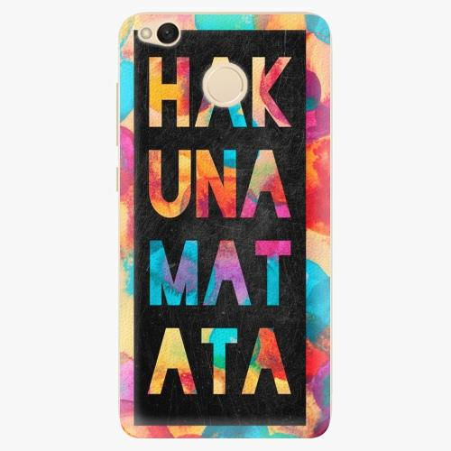 Plastový kryt iSaprio - Hakuna Matata 01 - Xiaomi Redmi 4X