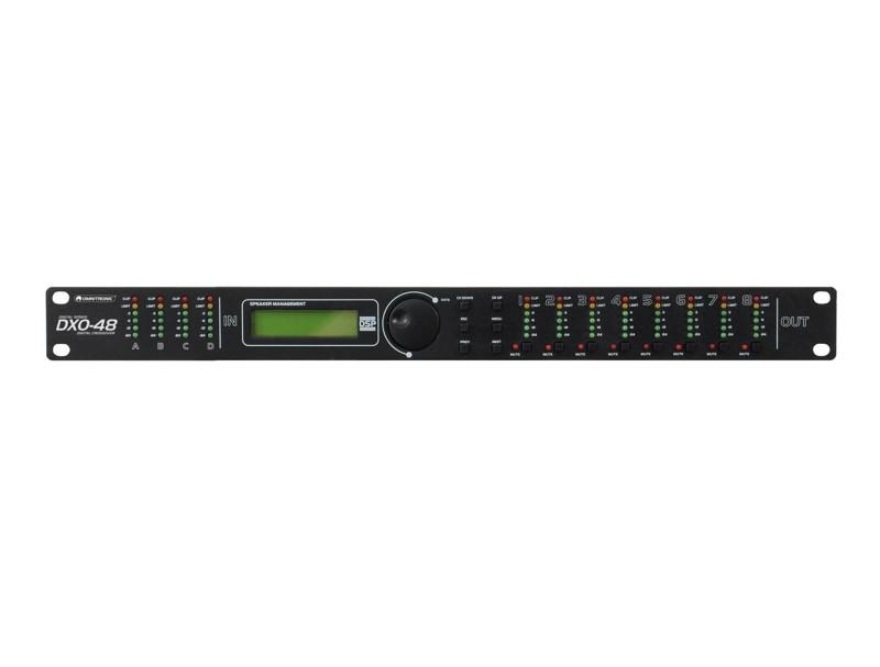Omnitronic DXO-48E, digitální výhybka