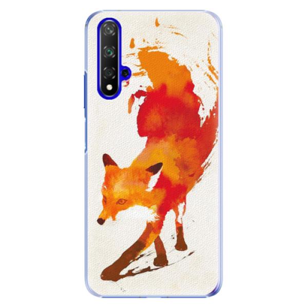Plastové pouzdro iSaprio - Fast Fox - Huawei Honor 20