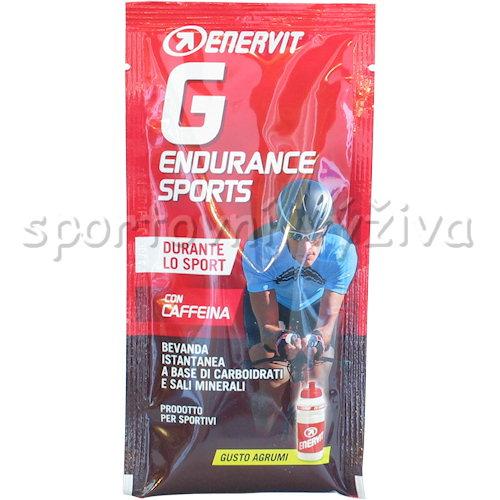 Enervit G Endurance 30g sáček-citrus-s-kofeinem