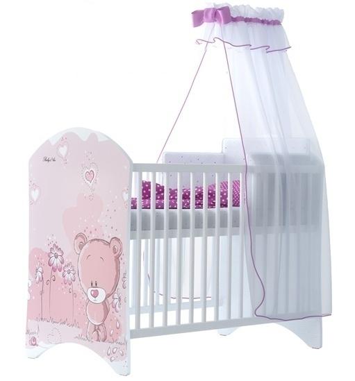 babyboo-detska-postylka-lux-medvidek-stydlin-ruzovy-120x60cm-d19