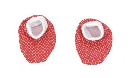 Botičky/ponožtičky BAVLNA Mamatti - Brouček v létě