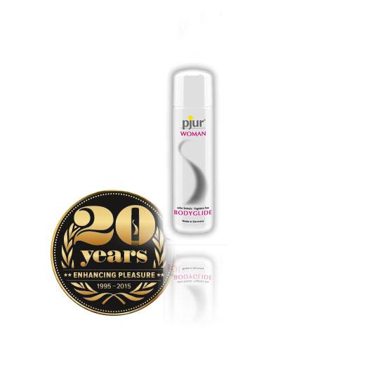 PJUR Woman Bodyglide 30 ml - špičkový silikonový lubrikační gel
