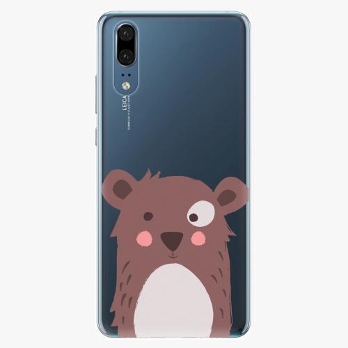 Plastový kryt iSaprio - Brown Bear - Huawei P20