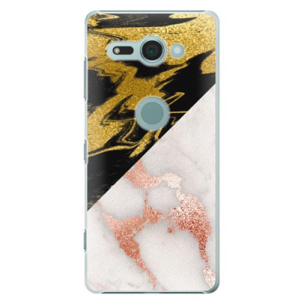 Plastové pouzdro iSaprio - Shining Marble - Sony Xperia XZ2 Compact