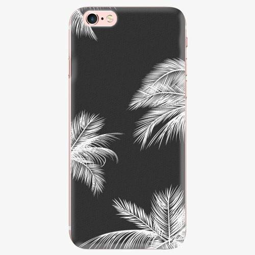 Silikonové pouzdro iSaprio - White Palm - iPhone 7