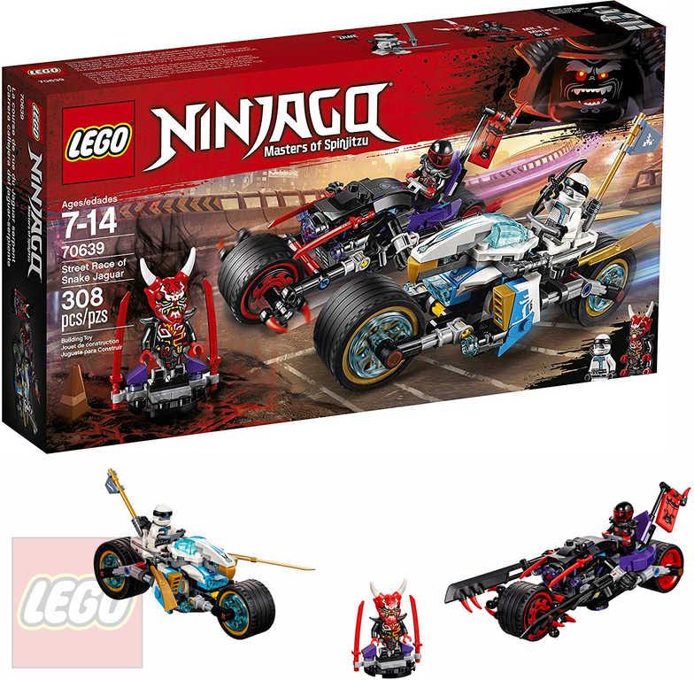LEGO NINJAGO Pouliční závod Hadího jaguáru 70639 STAVEBNICE