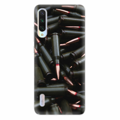 Silikonové pouzdro iSaprio - Black Bullet - Xiaomi Mi A3