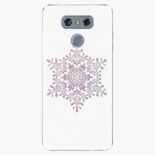 Plastový kryt iSaprio - Snow Flake - LG G6 (H870)