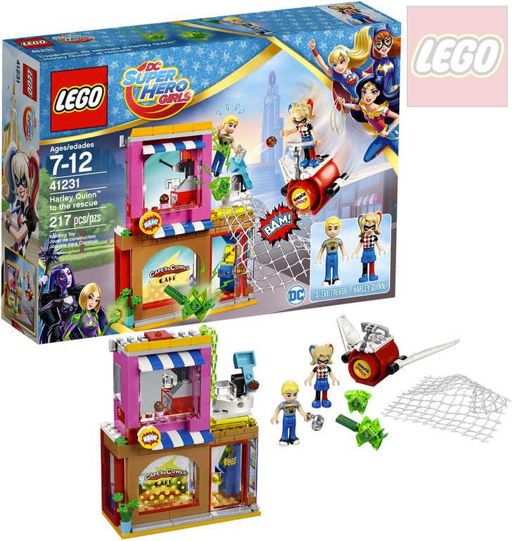 LEGO SUPER HEROES Harley Quinn spěchá na pomoc 41231 STAVEBNICE