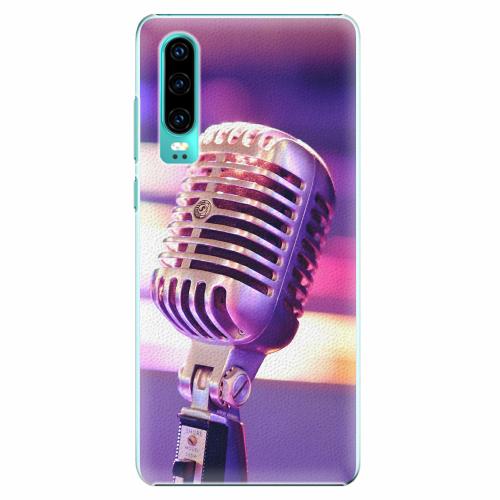 Plastový kryt iSaprio - Vintage Microphone - Huawei P30