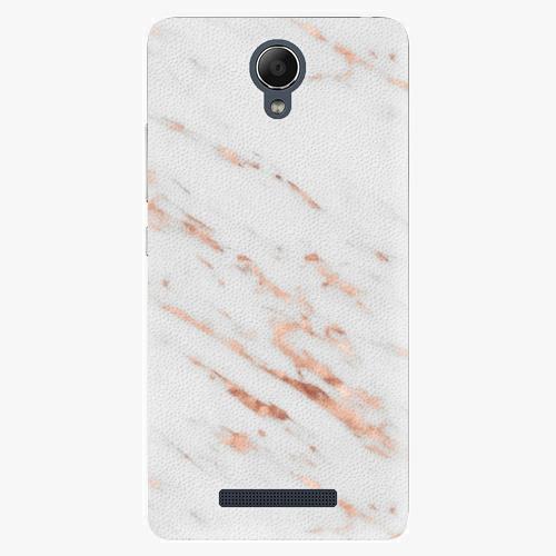 Plastový kryt iSaprio - Rose Gold Marble - Xiaomi Redmi Note 2
