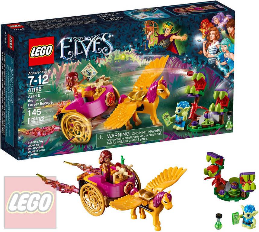 LEGO ELVES Azari a útěk ze Skřetího lesa 41186 STAVEBNICE