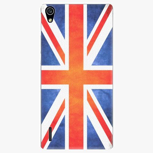 Plastový kryt iSaprio - UK Flag - Huawei Ascend P7