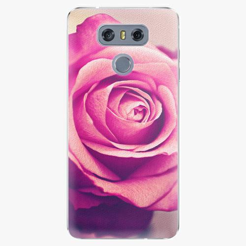 Plastový kryt iSaprio - Pink Rose - LG G6 (H870)