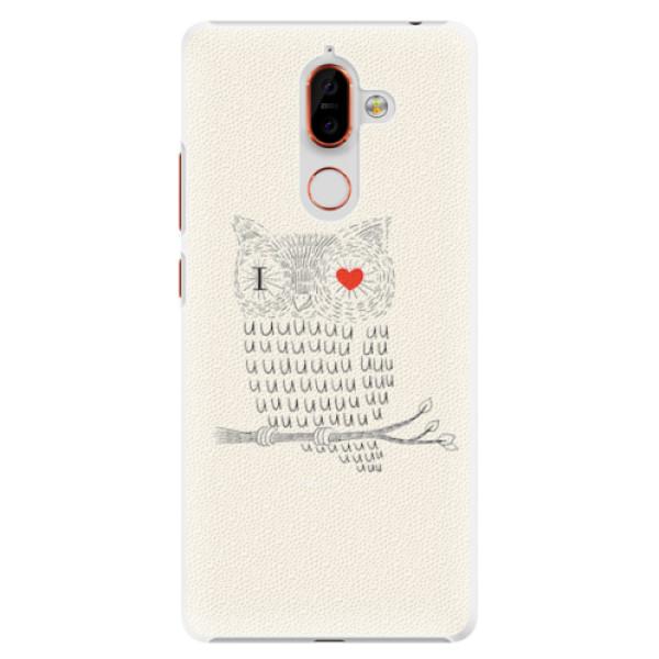 Plastové pouzdro iSaprio - I Love You 01 - Nokia 7 Plus
