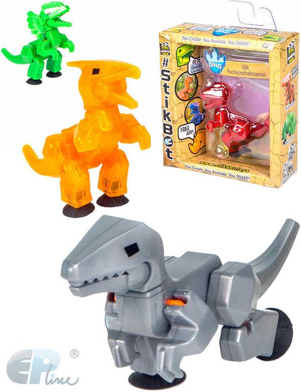 EP line Stikbot dinosaurus akční figurka plastová v krabičce 4 druhy