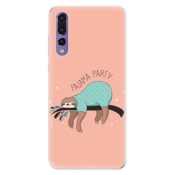 Silikonové pouzdro iSaprio - Pajama Party - Huawei P20 Pro