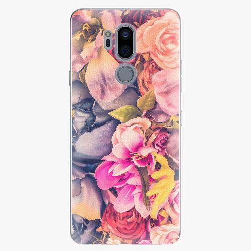 Plastový kryt iSaprio - Beauty Flowers - LG G7