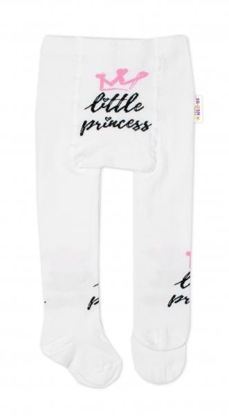 Baby Nellys Dětské punčocháče bavlněné, Little Princess