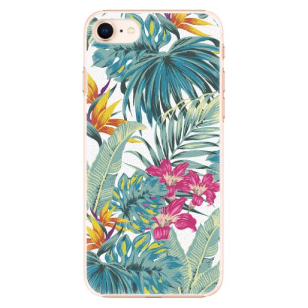 Plastové pouzdro iSaprio - Tropical White 03 - iPhone 8
