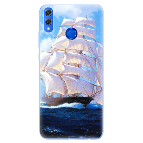Silikonové pouzdro iSaprio - Sailing Boat - Huawei Honor 8X