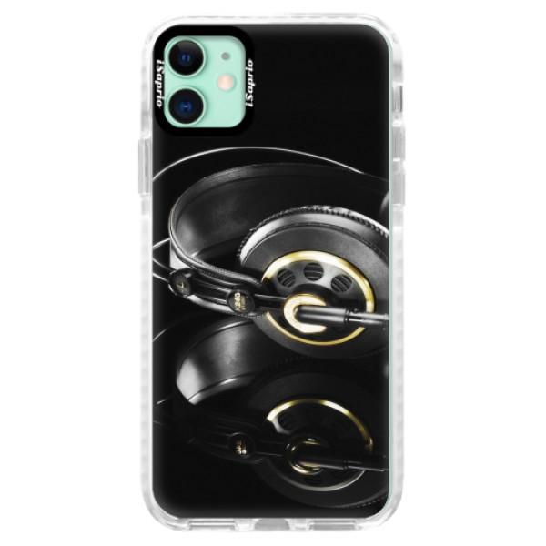 Silikonové pouzdro Bumper iSaprio - Headphones 02 - iPhone 11