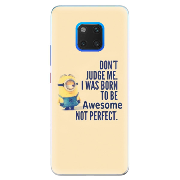 Silikonové pouzdro iSaprio - Be Awesome - Huawei Mate 20 Pro