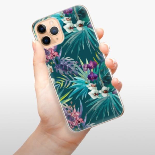 Odolné silikonové pouzdro iSaprio - Tropical Blue 01 - iPhone 11 Pro