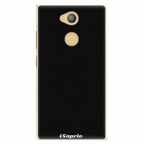 Plastový kryt iSaprio - 4Pure - černý - Sony Xperia L2